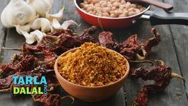 Dry Peanut Chutney Powder - Maharashtrian Shengdana Chutney