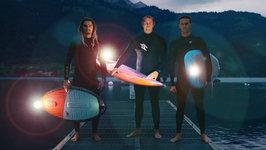 World's Most Extreme Nighttime Stunts in Switzerland