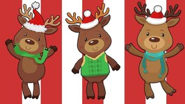 Counting Reindeer - Learn to Count during Christmas Time