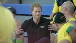UK's Prince Harry Speaks to Participants During 2017 Invictus Games
