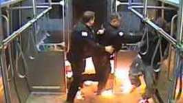 Man Arrested After Starting Fire on Chicago Train