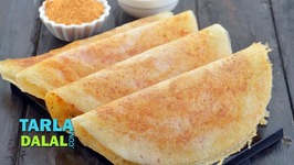 Ghee Roast Dosa - Crispy Dosa With Malgapodi Powder
