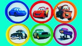 Learn Colors Play Doh Disney Cars Peppa Pig Ice Cream Popsicle Superhero Surprise Toys Kids
