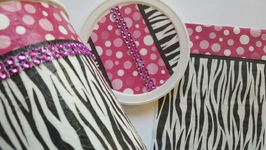 OATMEAL CONTAINER UPCYCLE - DOLLAR TREE NAPKINS - DIY CRAFTS