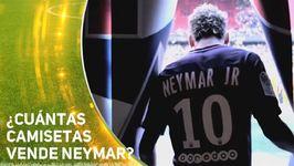 De verdad Neymar está vendiendo tantas camisetas?
