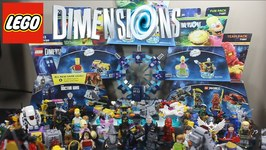 LEGO DIMENSION WAVE 2 ALL CHARACTERS