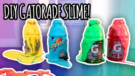 DIY How To Make Gatorade Slime - Super Fun And  Easy