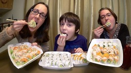 Dreamy Sushi /Gay Family Mukbang- Eating Show