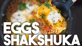 Eggs SHAKSHUKA - Poached In An Onion And Tomato gravy