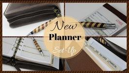New Planner Set Up