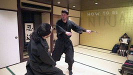 How to be a Ninja - Kyoto, Japan