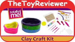 Totally Me! Clay Studio Craft Kit Toys R Us Pottery Wheel Paint Unboxing Toy Review