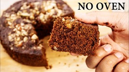 Chocolate Biscuit Cake - 3 Ingredient Eggless No Oven Bake