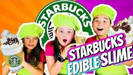 Edible Starbucks Slime DIY