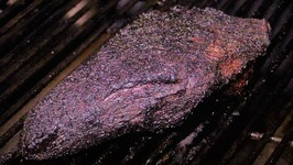 Tri-tip Cooked on a Slow 'n Sear using Mojobricks  KosmosQ Cow Cover Rub
