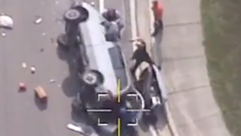 Convicted Sex Offender Arrested After Dramatic End to Police Pursuit