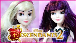 Descendants 2 Movie Mal Isle Style Switch Doll Review