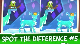 Spot the Difference Ep 5 - Om Nom Stories - Ice Cave