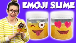 DIY Emoji Slime - How To Make Emojis With Glitter Slime - Arts And Crafts With Crafty Carol
