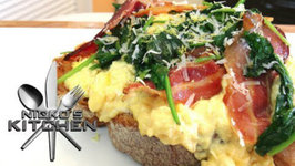 Creamy Eggs With Pancetta