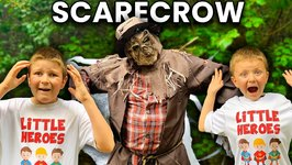 Whose that Scarecrow?? Halloween Edition Spooky Scavenger Hunt