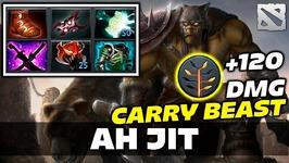 Ahjit Beastmaster CARRY Dota 2