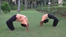 Yoga For Beginners In Tamil - Chakrasana - Wheel Posture