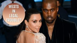 Kanye And Kim Facing Major Legal Drama