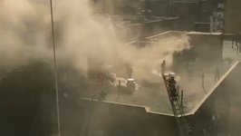 Five-Alarm Fire Tears Through Greenwich Village Apartment Building