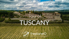 An Aerial Tour of Tuscany - Chianti, Italy - DJI Mavic Pro Drone and Osmo