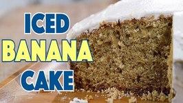 1930 Iced Banana Cake