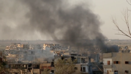 Video Shows Destruction in Raqqa as Negotiations for Evacuation Continue
