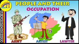 People and their Occupation  Jobs and Profession of People  Learn Jobs and Occupation for Kids