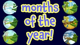 Months of the Year - Kids Learning Videos