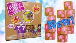 New Limited Edition Boxy Girls Dolls Unboxing!
