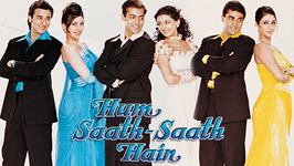 Hum Saath Saath Hain - Udit Narayan And Alka Yagnik Romantic Songs - Ram Laxman Songs