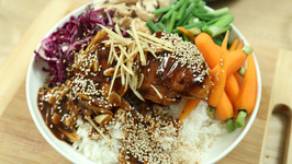 Chicken Rice Bowl - Chicken Recipe - Indo Chinese - Rice Bowl - Varun Inamdar