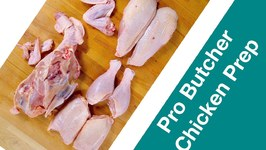 Pro Butcher How to Cut Up A Chicken