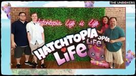 Hatchimals Hatchtopia Life Party