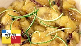 Soupe de banane à l'annanas