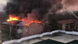 Fast-Moving Fire Rips Through DC Suburb Apartment Complex
