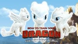 Princess Celestia LIGHT FURY How to Train Your Dragon 3 - My Little Pony Custom DIY
