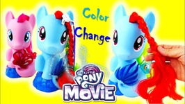 My Little Pony Movie 2017 Toy Rainbow Dash Magic Style Seapony Styling Head - Color Change Tail