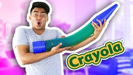 DIY GIANT GUMMY CRAYON