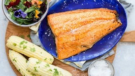 Simple Broiled Salmon - Easy Dinner