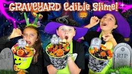 How To Make Edible Graveyard Slime - Gummy Worms, Oreo's And Marshmallows