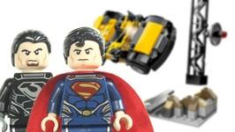 LEGO Man of Steel DC SuperHeroes 76002 Superman Metropolis Showdown 2013 Review
