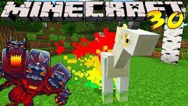 Minecraft Mods - MONSTERCRAFT - Ep  30 'RAINBOW UNICORNS'