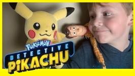 Toy Story 4 - Detective Pikachu Doritos Mystery - Forky Woody Pokemon