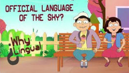 English Is The Official Language Of The Sky - English Lessons For Kids